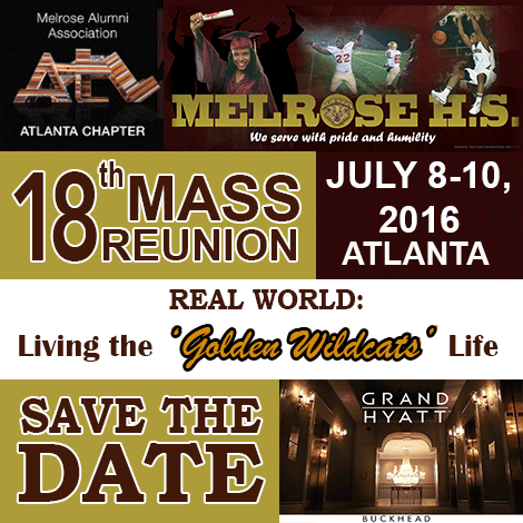 Save the Date -Melrose Alumni Atlanta