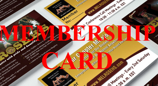 Membership Card Image for MelroseHS.com